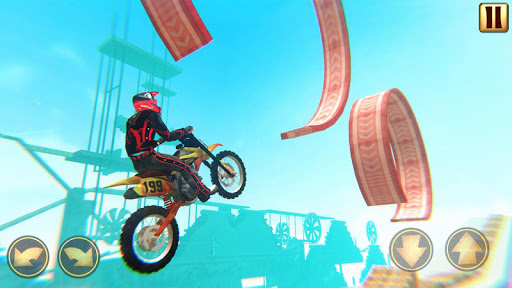 Code Triche Trial Bike 3D - Bike Stunt Games APK MOD (Astuce) screenshots 2