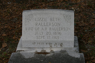 Photo: Lizzie Beth Johns Raulerson Wife of A. R. Raulerson