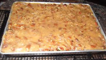 German Chocolate Sheet Cake (from the 1950's)