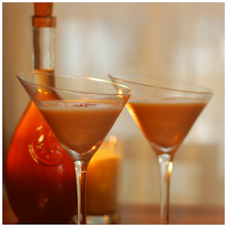 French Gingerbread Martini