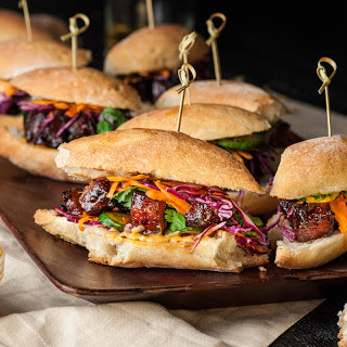 Slow Cooker Pork Banh Mi Sliders