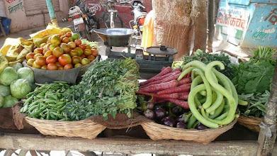 Photo: Jaipur India Veggie Stand