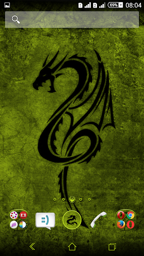 Kit Kat Dragon Lemon Theme