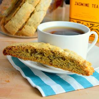 Jasmine Tea Biscotti.