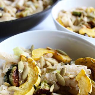 Creamy Garlic & Leek Autumn Pasta