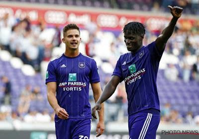 Neuf Anderlechtois appelés en sélection