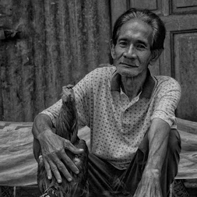 The Roosterman by Ayah Adit Qunyit - People Portraits of Men (  )