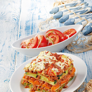 Griechische Sommer-Lasagne
