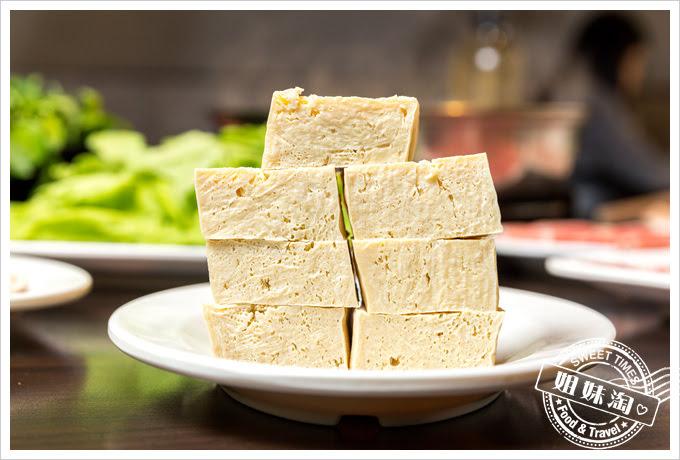 名家汕頭沙茶火鍋菜單手工凍豆腐