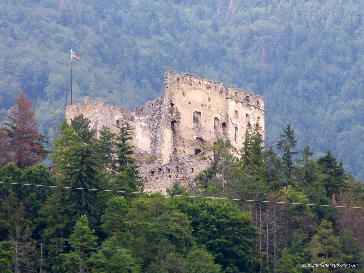 Likava castle ruins, Liptov, Slovakia