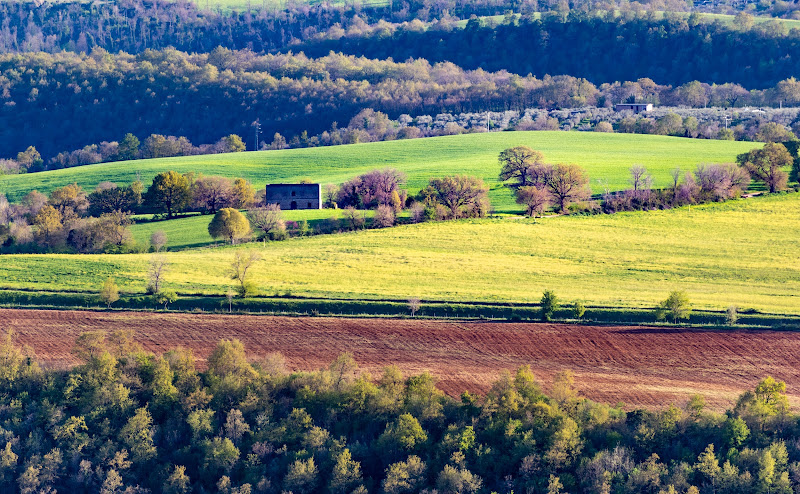 Panorama primaverile di Alduccio