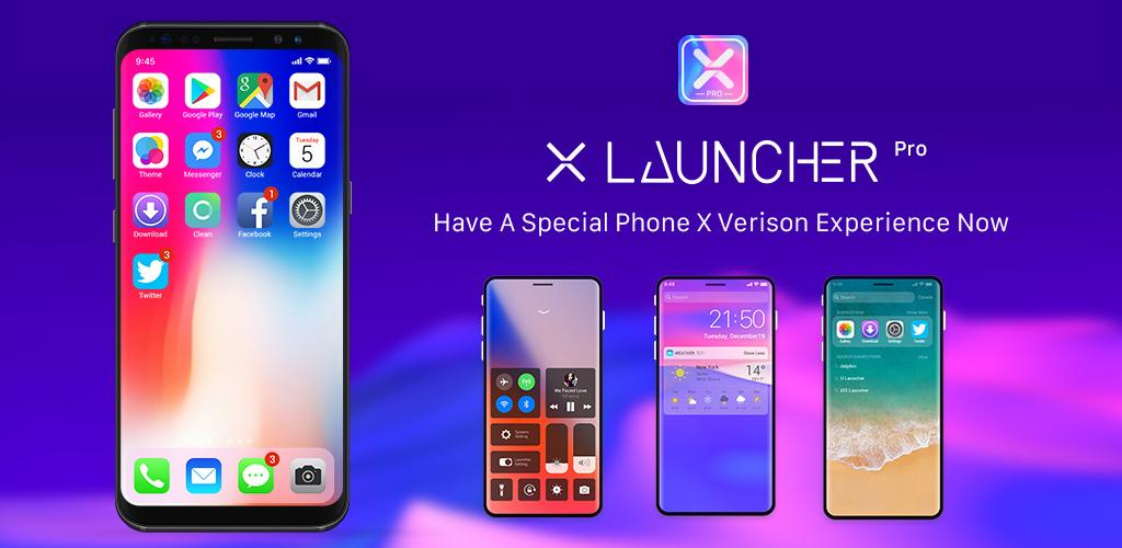 X Launcher Pro - IOS Style Theme & Control Center 1 0 0 Apk Download