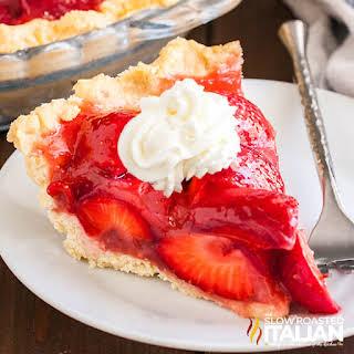 Fresh Strawberry Pie No Gelatin Recipes.