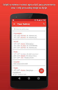 Panel Radiowy screenshot