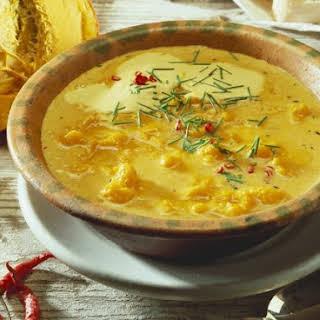 Caribbean Pumpkin Soup.