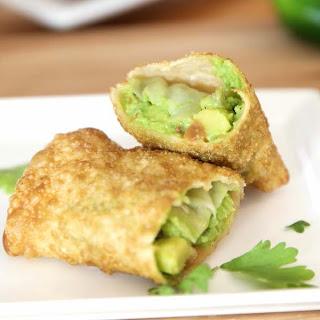 Avocado Egg Rolls with Jalapeño Dip