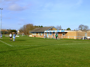 Photo: 10/03/07 v Bassingbourn (Cambs Cup Semi Final) 1-0 - contributed by Paul Sirey