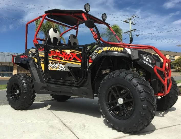 250cc FangPower Sports UTV Side By Side Fang Power Offroad Dune Buggy