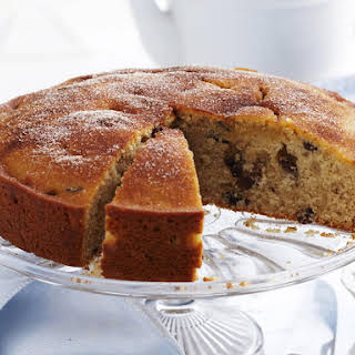 Cinnamon Raisin Tea Cake.