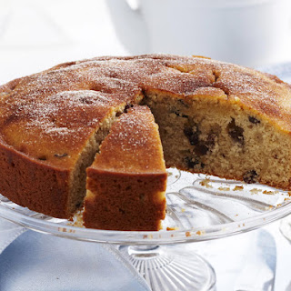 Cinnamon Raisin Tea Cake.