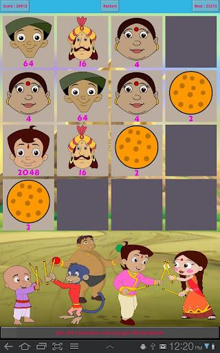 Chhota Bheem 2048 Game