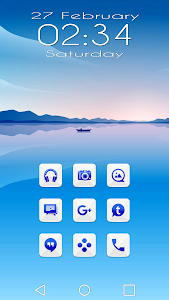 Azer Blue Icon Pack screenshot 0