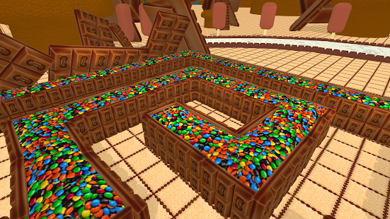 VR Maze 3D - Cookie Labyrinth- screenshot thumbnail