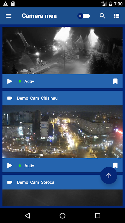 CloudCamera- screenshot