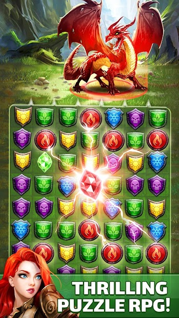 Empires & Puzzles: RPG Quest Android App Screenshot