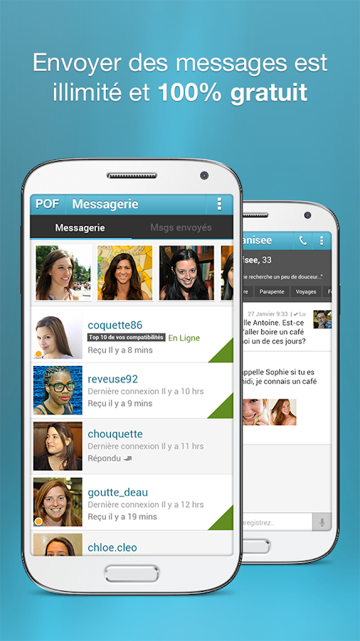 Site rencontre gratuit application