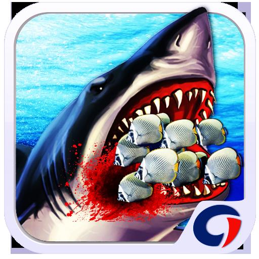 Hungry Shark Attack Simulator 動作 App LOGO-硬是要APP