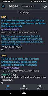 QMAP: Qanon Drops, Alerts, WWG1WGA Wall and Memes! Screenshot