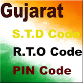 Gujarat STD RTO and PIN Code