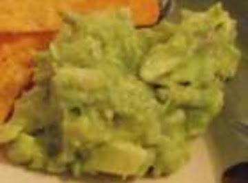 Authentic Mexican Guacamole Dip Recipe