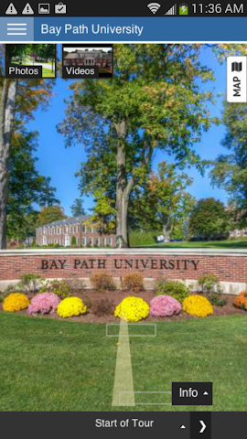 android Tour Bay Path University Screenshot 0