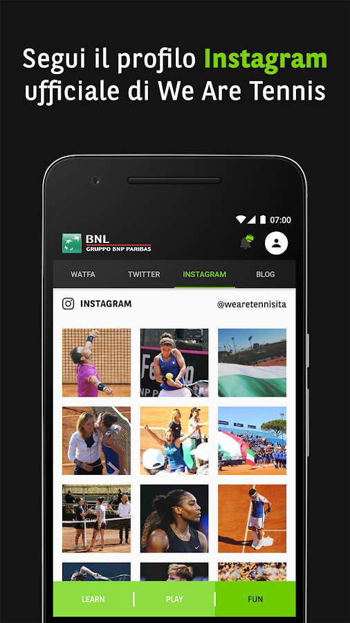 BNL Tennis Academy- screenshot