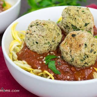 Lentil Quinoa Vegan Meatballs.
