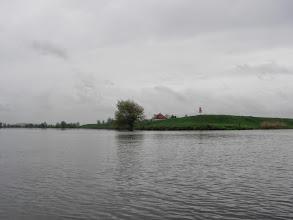 Photo: ...ale dziś po raz pierwszy płynę w prawo- kanałem na śluzę