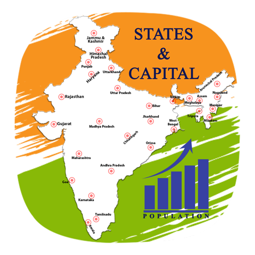 India Map With All States.Indian State Capital Map Apps On Google Play
