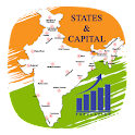 Indian State Capital & MAP icon