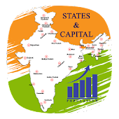 Indian State Capital & MAP