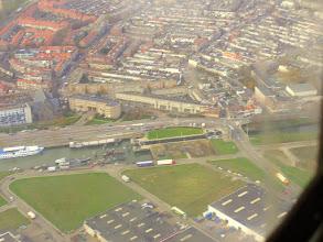 Photo: vanuit het vliegtuig gezien