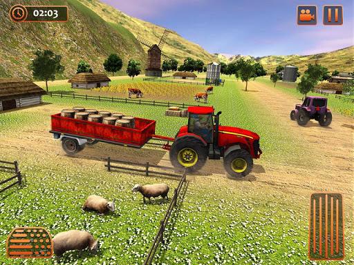 Farm Tractor Cargo Driving Simulator 20 1.5 screenshots 13