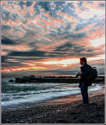 Fotografo al tramonto di Pierluigi Terzoli