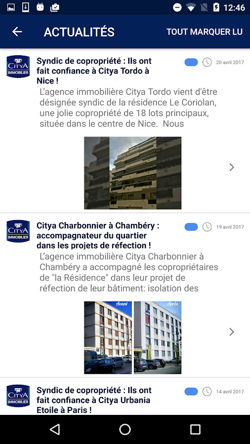 Citya Immobilier- screenshot