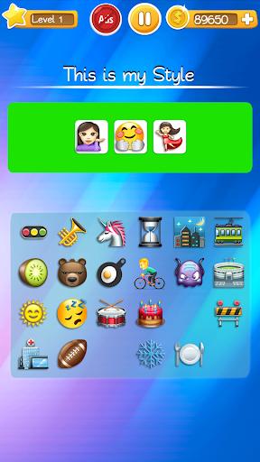 Words to Emojis u2013 Best Emoji Guessing Quiz Game screenshots 23