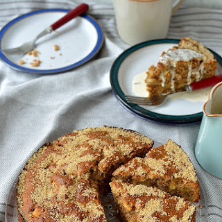 Simple Wholemeal Apple Cake.