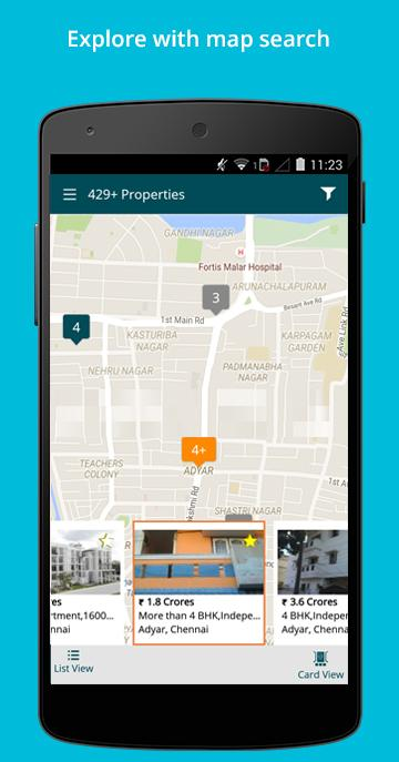 India Property Real Estate App - screenshot
