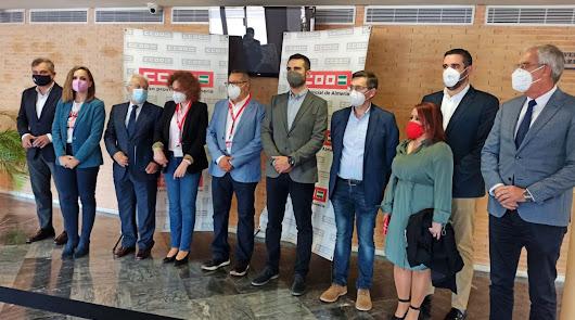 Valdivieso renueva como responsable provincial de CCOO