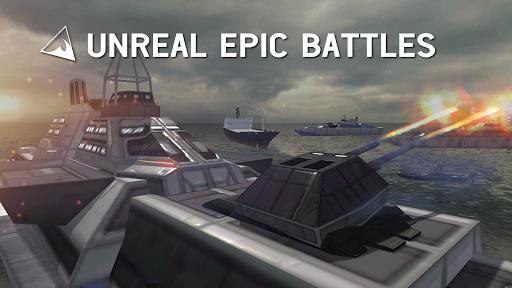 Code Triche Warship Simulator - Battle of Ships APK MOD screenshots 1